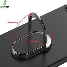 Alisuber Universal Magnetic Ring Holder 360 Rotation Finger Ring Grip Cell Phone Stand Holder Ring Holder Used for Magnetic Car
