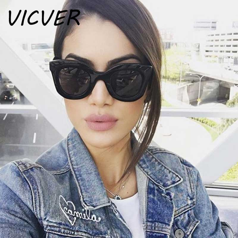 e1859b20d9 Detail Feedback Questions about Oversized Sunglasses Women Cat Eye Big  Frame Sun glasses Ladies Vintage Cheap Cateye Glasses Fashion Female  Coating Lens ...
