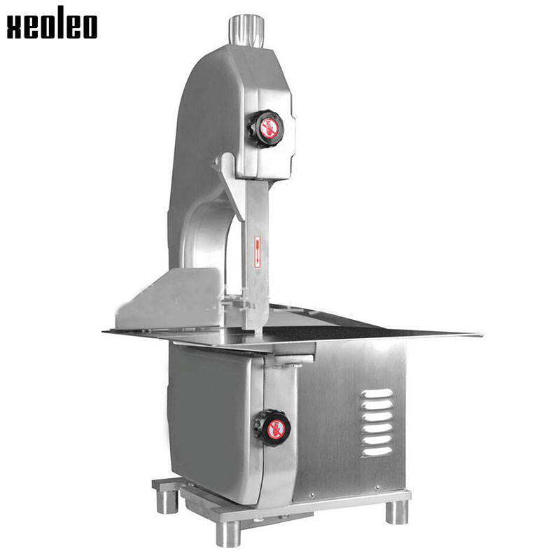 все цены на Xeoleo Commercial Bone sawing machine Meat bone Cutting Machine Frozen meat cutter 200-300kg/h 220V Bone cutter machine Fish cut