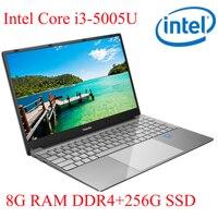 P3 8G ram 256G SSD I3-5005U ноутбук ультрабук с подсветкой ips WIN10 клавиатура и OS Язык доступны на выбор