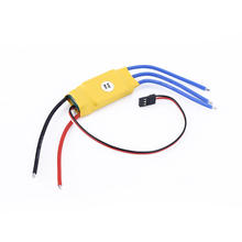 30A Brushless ESC RC Helicopter Aircraft Car Boat Speed Controller