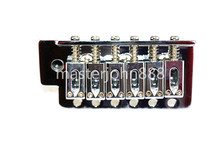 цена Chrome Electric Guitar Bridge Tremolo Bridge For FD Strat SQ Electric Guitar Free Shipping в интернет-магазинах