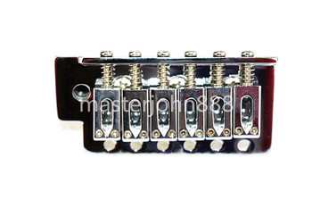Chrome Electric Guitar Bridge Tremolo Bridge For FD Strat SQ Electric Guitar Free Shipping hot electric guitar tremolo bridge systems gold color new