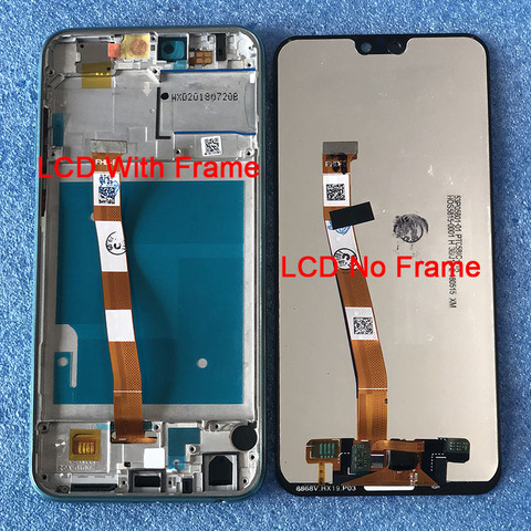 "Original LCD Frame For 5.84"" Huawei Honor 9i 2018/Honor 9N LLD-AL30 Axisinternational LCD Display Screen+Touch Panel Digitizer Multan"