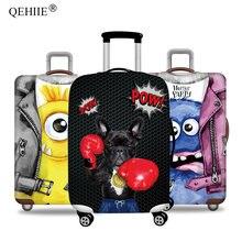 20d05135f QEHIIE marca elástico equipaje cubierta protectora para 19-32 pulgadas  maleta Trolley proteger polvo bolsa