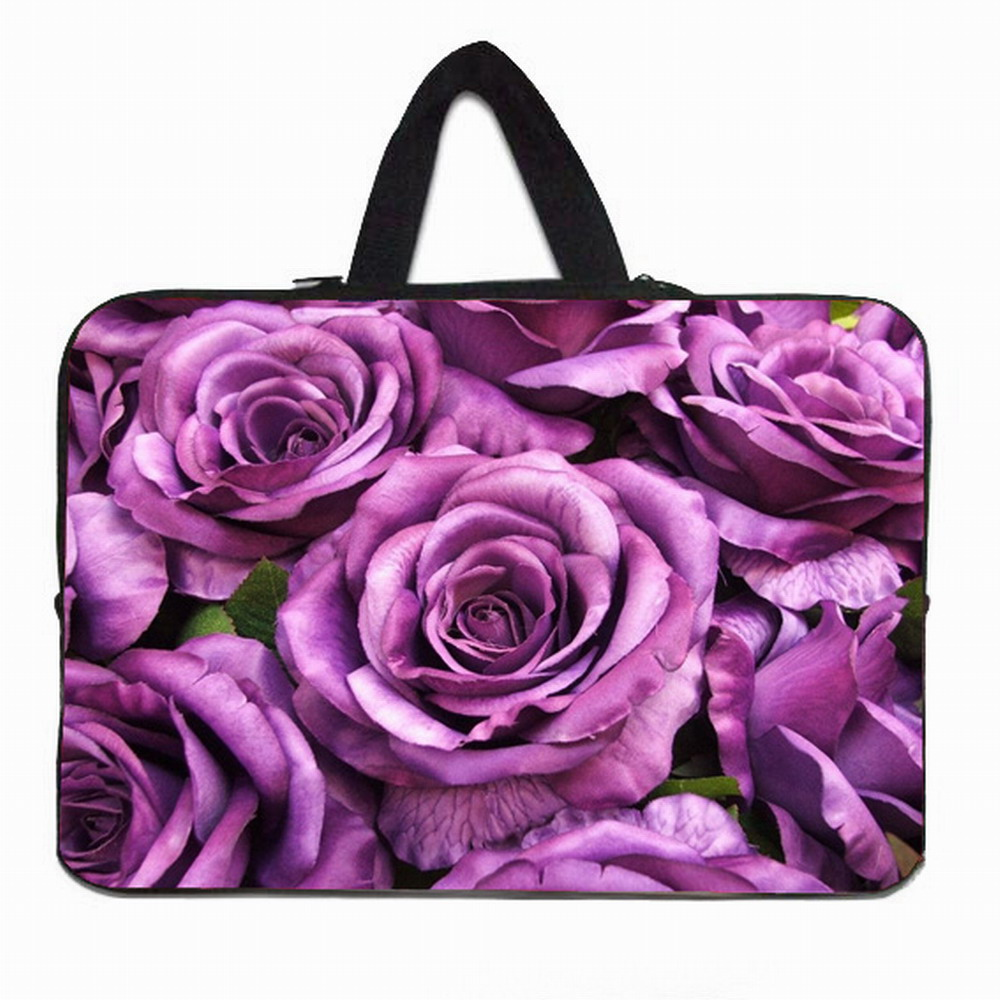 Female Notebook Laptop Bag 15.6 15 14 13.3 12 10 inch Neoprene Tablet 10.1 9.7 Mini PC Slim Briefcase Netbook Protect Inner Bags