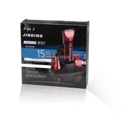 Original 5 en 1 Impermeable Recargable Trimmer de Nariz Cortapelos maquinilla de Afeitar de Los Hombres máquina de Afeitar Eléctrica Máquina de Afeitar para Los Hombres