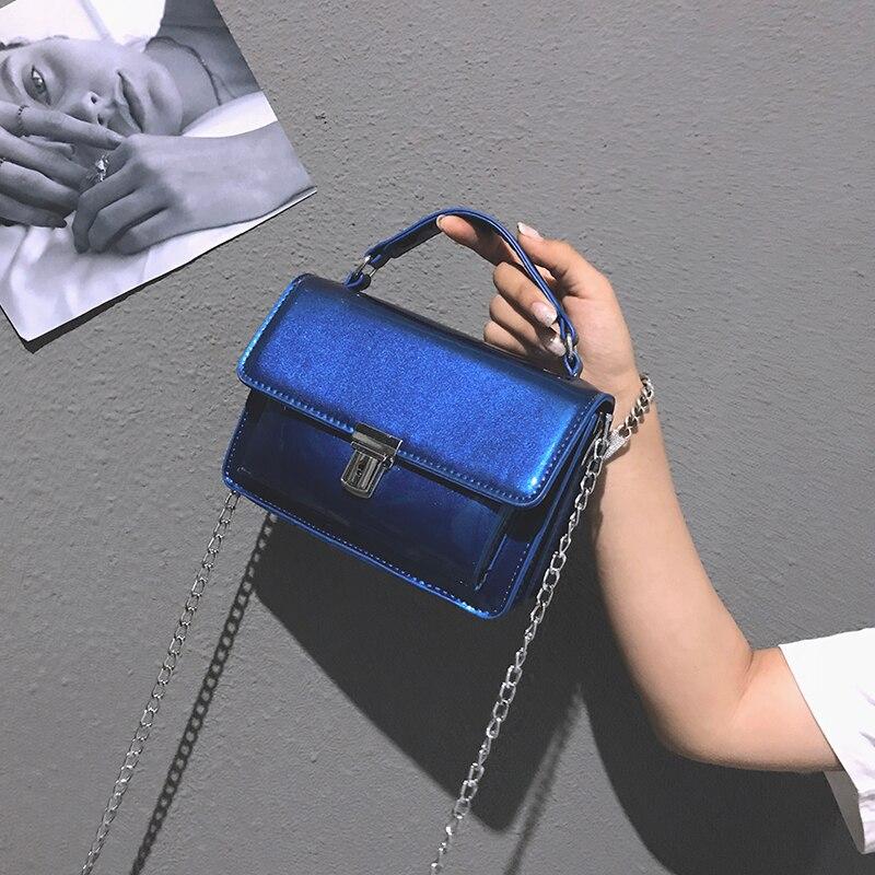 RUOCI Små Dam Väskor PU Läder Messenger Bag Designer Mini Shoulder - Handväskor - Foto 3