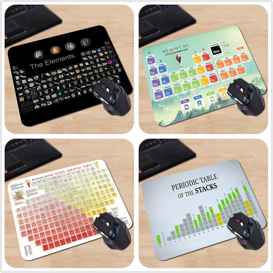 babaite durable soft rubber anti slip mice play mats periodic table gaming mouse pad gamer - Periodic Table Periodic Pad App