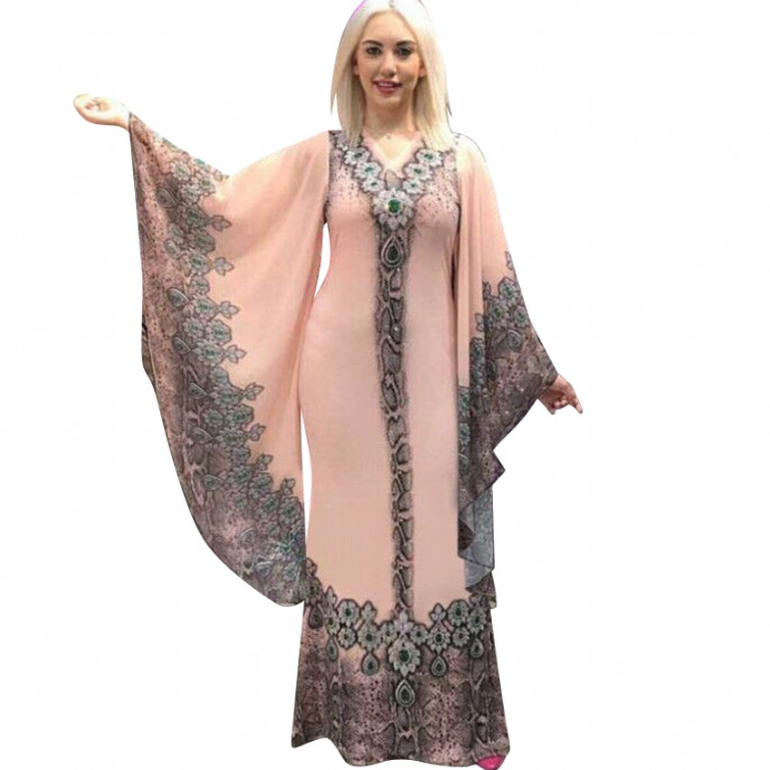 African Dresses For Women Africa Clothing Muslim Long Dress Length Fashion African Dress For Lady