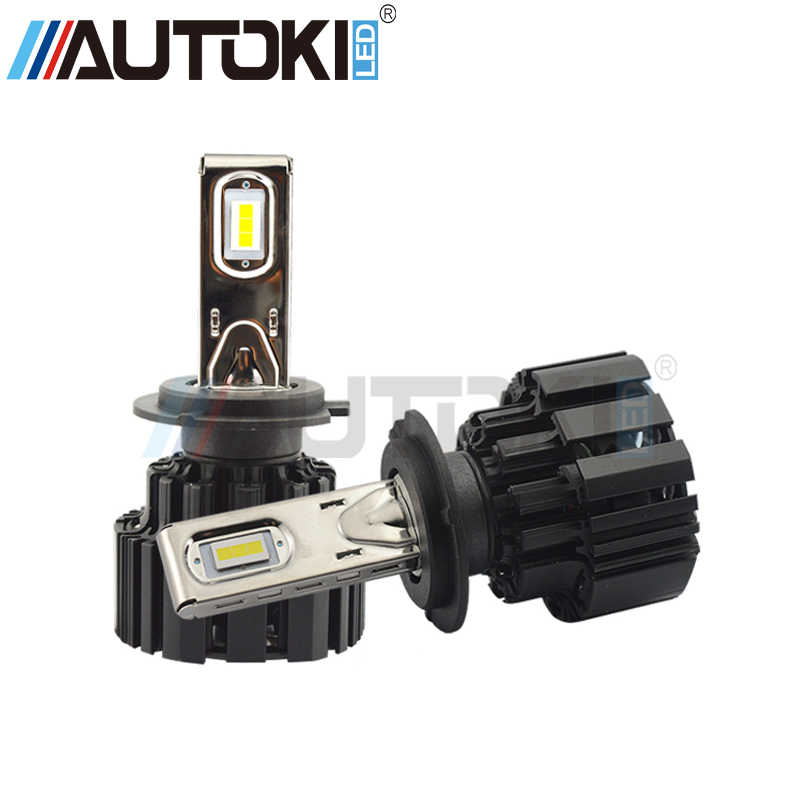 Autoki H4 H7 H11 9006 9005 P9 Auto Car Led Headlight 100W/set 13600LM High Low Beam Led Bulb All In One Automobile HeadLamps