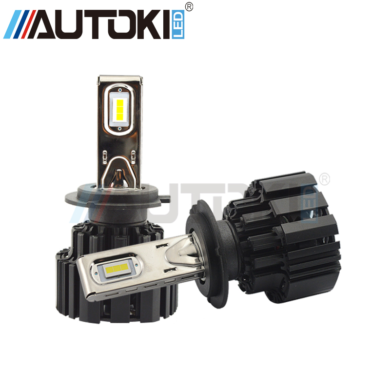 Autoki H4 H7 H11 9006 9005 P9 Auto Car Led Headlight 100W/set 13600LM High Low Beam Led Bulb All In One Automobile HeadLamps-in Car Headlight Bulbs(LED) from Automobiles & Motorcycles    1