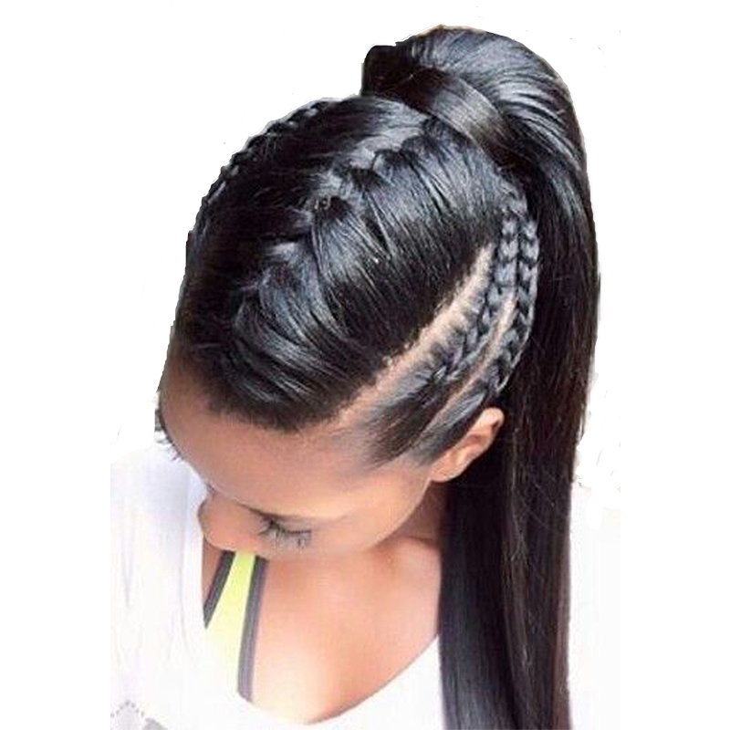 Sunny Queen 360 Lace Frontal Human Hair Wigs Straight Pre Plucked Natural Hairline With Baby Hair Brazilian Virgin Hair Wig