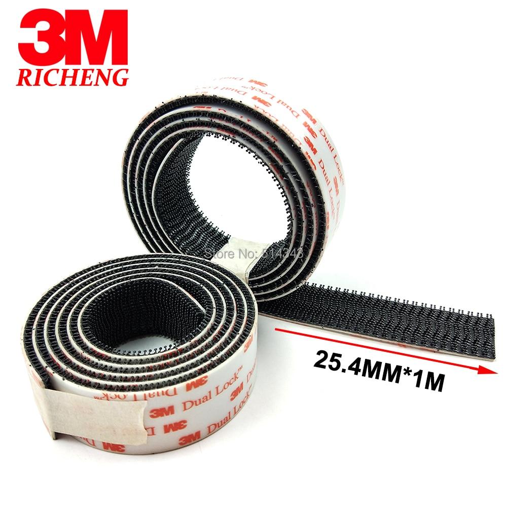 3M SJ3550 Dual Lock Fastener Self Adhesive Tape Type 250,1 x 1m (25.4mm x 1m)