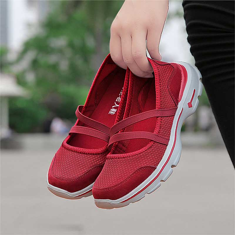 Woman Walking Shoes New Spring 2019 Sneakers Women Breathable Mesh Shoes Femme Casual Shoe Ladies