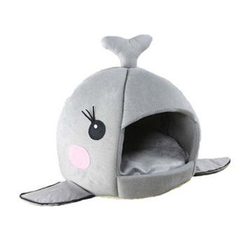 New Arrival Cat Nest Teddy dog Animal  Dolphin Cotton Bed Warm Soft Pet Products Foldable Dog Sleeping House Pet Supplies CCG09 1