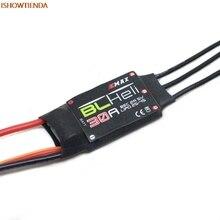 4x EMAX BLHELI 30A ESC BEC 2A5V Speed Controller for FPV RC QAV250 Quadcopter Pro Accessories Drop Shipping