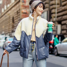 Autumn Winter Real Genuine Leather Jacket Women Clothes 2019 Korean Vintage Sheepskin Coat Sheep Shearling Fur Tops ZT3436(China)