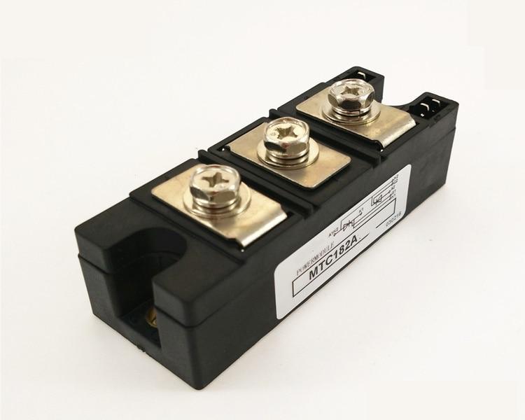 SCR MTC 182A 1000V/1200V/1600V /1800V Thyristor module silicon controlled mtc mtx mta mtk skkt pk 25a thyristor module scr high quality page 5