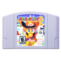 N64Game MarioParty 2 Video font b Game b font Cartridge font b Console b font Card