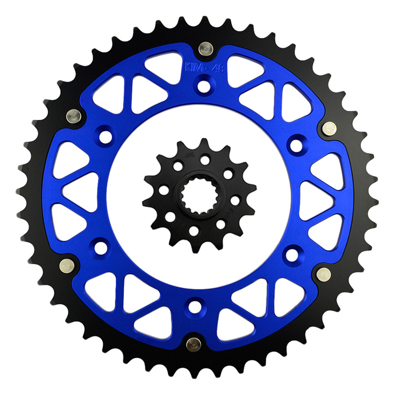 High Performance Motorcycle 14T Front & <font><b>48T</b></font> Rear <font><b>Sprocket</b></font> Kit Sit For KTM SX 125 1994-2014 image