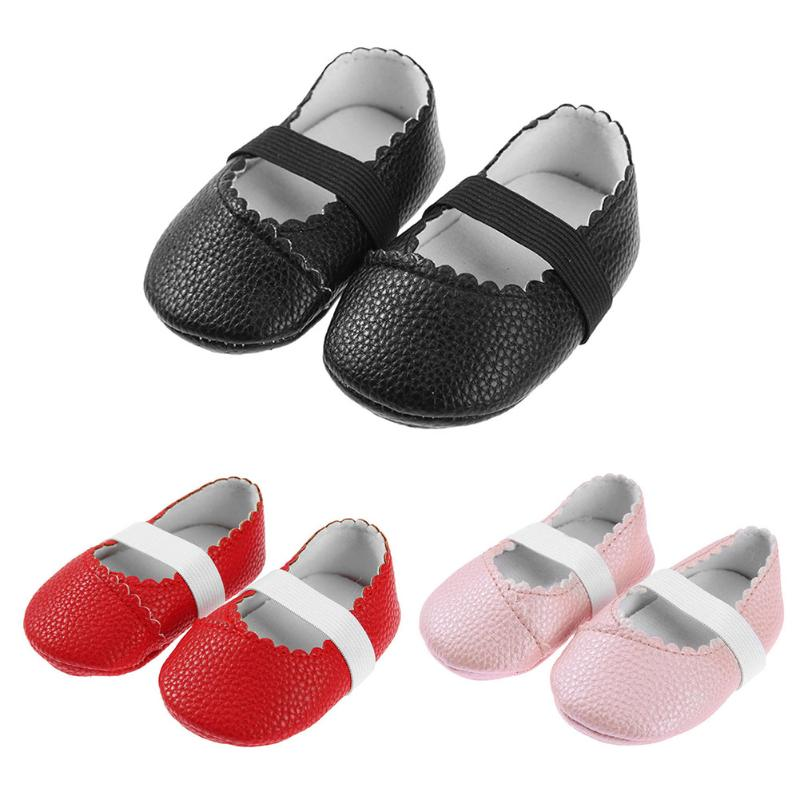 Unisex Baby Casual Spring Dancing Shoes Baby Moccasins Toddlers PU Leather Soft Soled Anti-Skid First Walkers Infant Girls Shoes