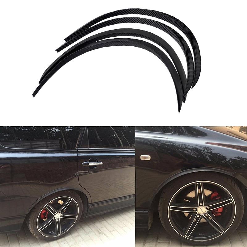 ESPEEDER 4pcs Car Arch Wheel Fender Flare Extension