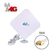 4G LTE Ăng Ten 35dBi Đầu Nối SMA Cái Tầm Xa Mạng Với Ống Hút Cho 4G Modem/Router/kích Sóng Với SMA Đực C 4G Ăng Ten