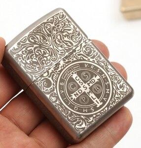 ZG1877 часы видео 61*42*15 см ручной работы христианский католический титановый сплав TC4 зажигалка