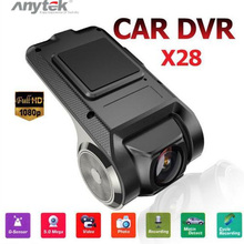 Anytek X28 Mini WiFi Car DVR Camera 1080P FHD Video Registrator Recorder WiFi ADAS G Sensor Dash Cam стоимость