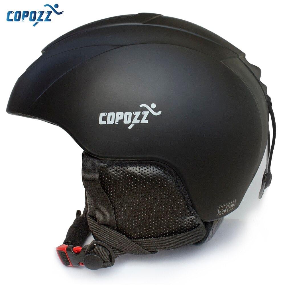 COPOZZ Ski Helm Integral geformten Snowboard helm Männer Frauen Skating Skateboard Skifahren Helm