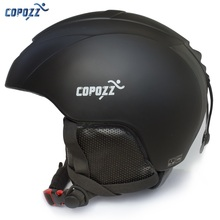 COPOZZ New brand Ski helmet  Integrally-molded professional Snowboard helmet Men Women Skating Skateboard Warm Skiing helmet