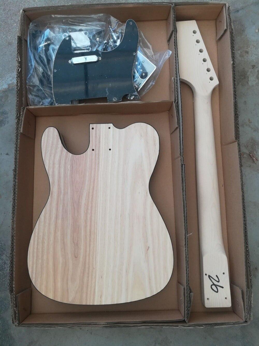 Tangwood 2018 nouveau kit de bricolage de GYTL-007 populaire Set guitare électrique avec accessoires, peut être personnalisé, livraison gratuite