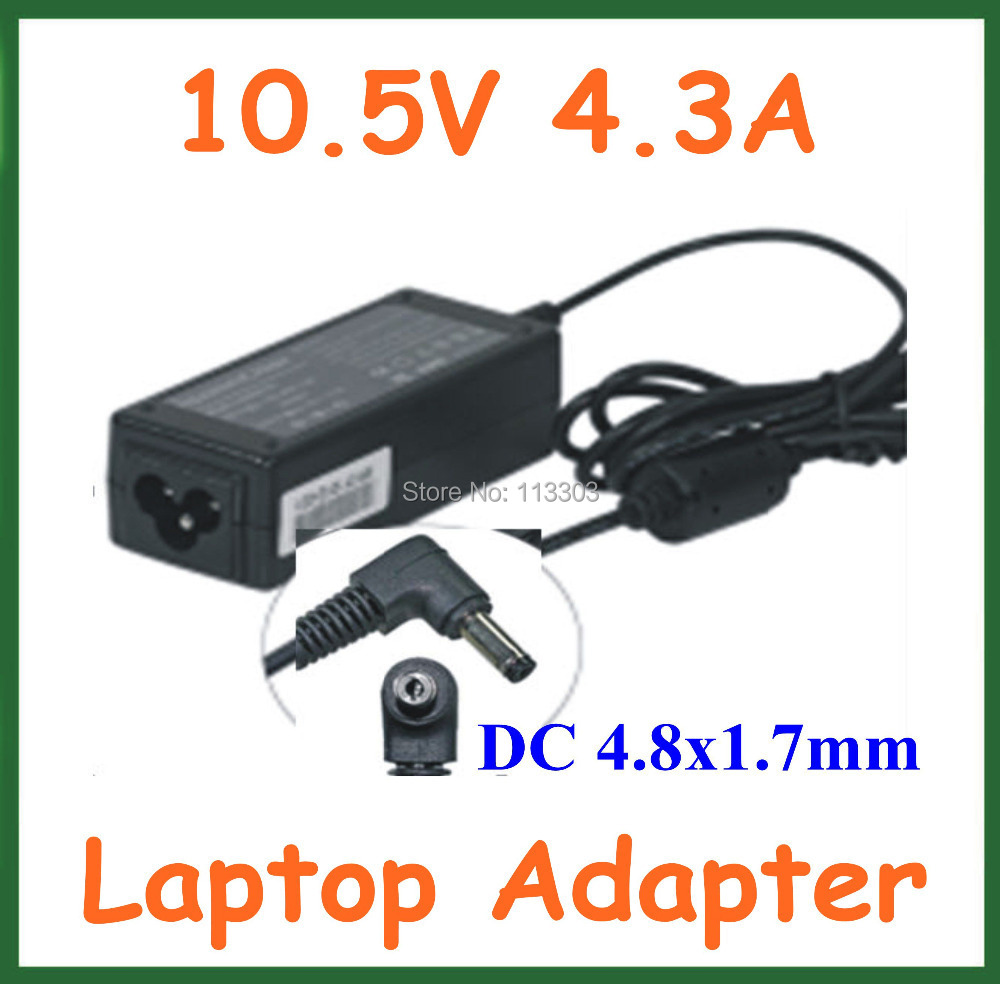 10.5V 4.3A 45W 4.8*1.7mm AC Adapter Battery Charger for Sony Laptop Power Supply Adapter VGP-AC10V8 PA-1450-06SP