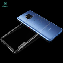 For Huawei mate 20 pro Case Cover NILLKIN Ultra Thin Slim TPU Case For Huawei mate 20 pro Fitted Cases TPU Cover 6.39'' nillkin белый huawei mate 10
