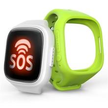 Q95 a6 impermeable wi-fi gps ubicación bebé smart watch monitor de localizador del buscador del perseguidor sos de llamada perdida anti smartwatch niños