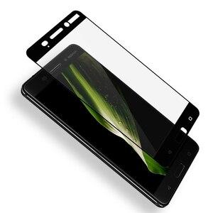 Image 3 - Dreamysow フルカバー強化ガラスノキア 6 5 3 強化保護ガラス Nokia6 ため 3 8 7 5 2 スクリーンプロテクター安全フィルム