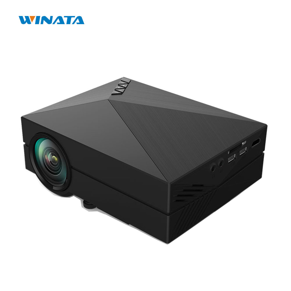 GM60 LED Projector 854x480 Pixels Support 1080P HD Mini LCD Proyector gm60 Multimedia Player for Home Theater Cinema mini portable multimedia player dvd player home theater projector led proyector