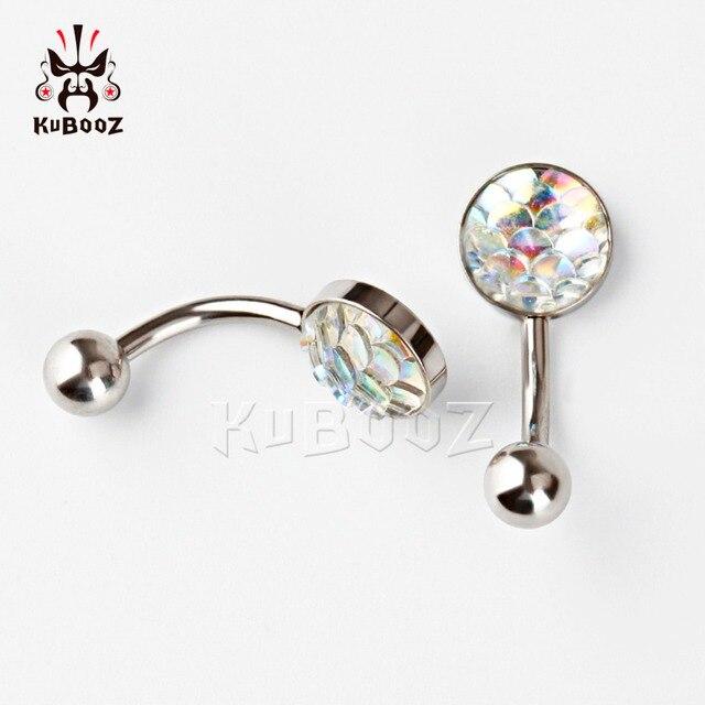 Купить пупка для пупка kubooz кольцо пирсинга из нержавеющей стали
