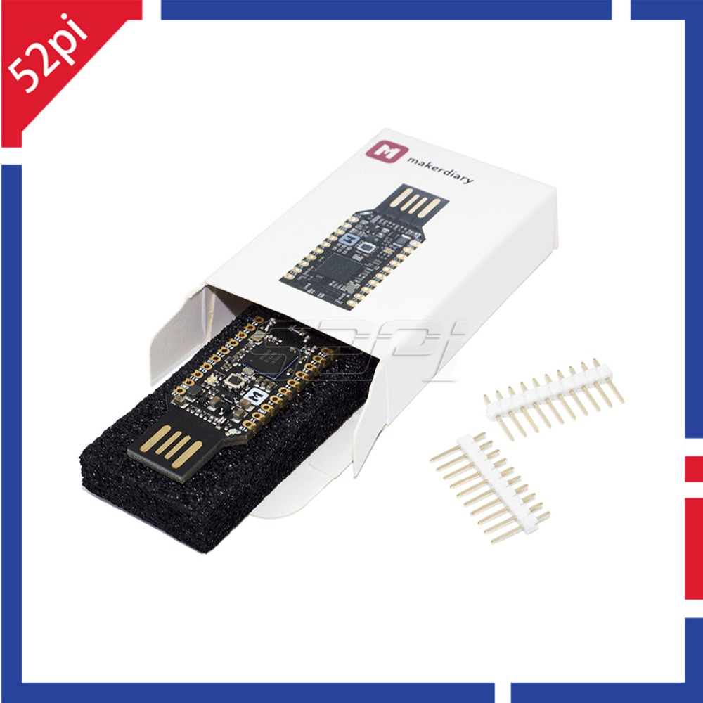52Pi New! NRF52840 Micro Dev Kit USB Dongle