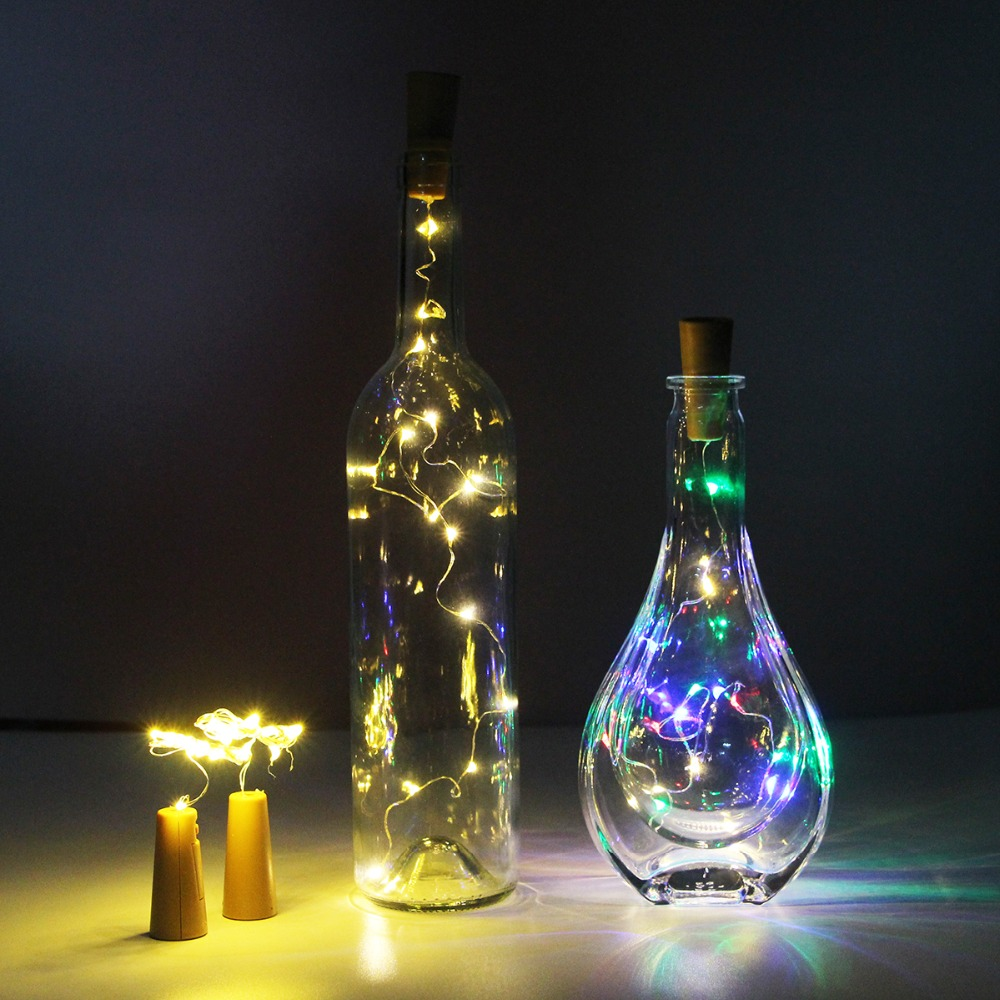 3 6pcs Battery Led Bottle Wine Cork String Lights