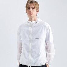 Skin Jacket Coat Windbreaker Summer Mens Pioneer Camp Ultralight Sunscreen AJK901176