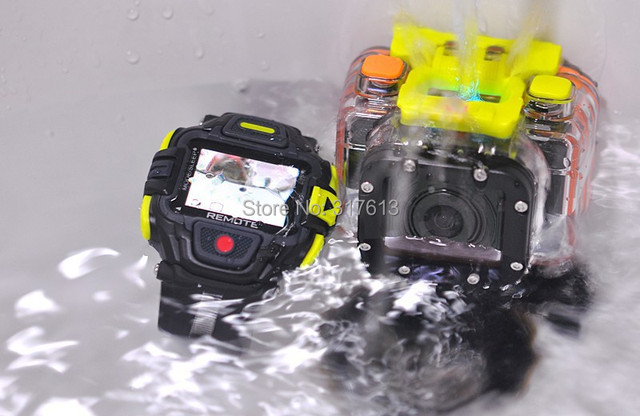 G8900 Full HD Action Camera Eyeshot Wi-Fi Watch Remote Control 1920x1080p Ultra Wide 145 Degree Lens Sport DVR 60M waterproof