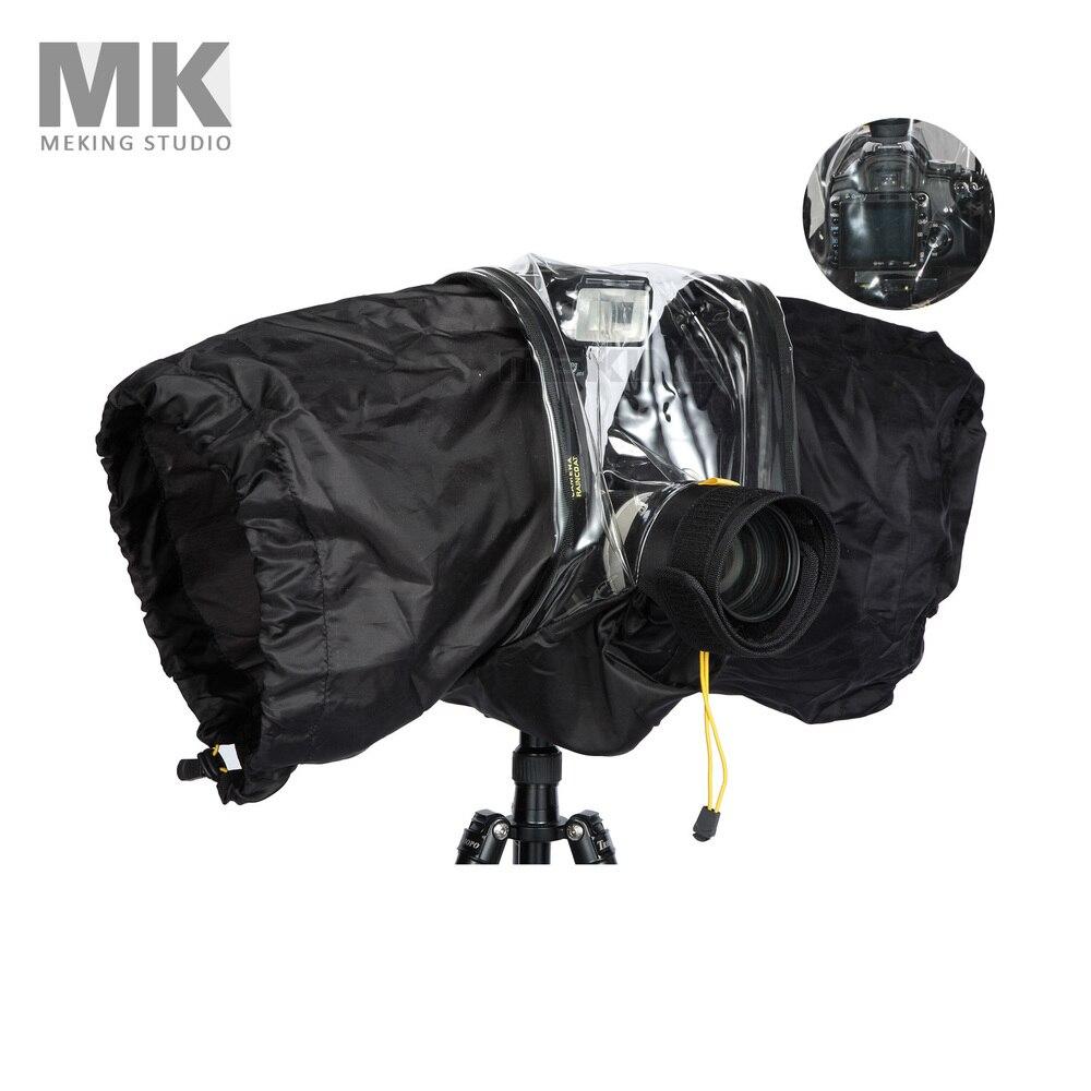 Manteau de pluie professionnel housse de protection pour appareil photo sac pour Canon Nikon DSLR appareil photo grande taille