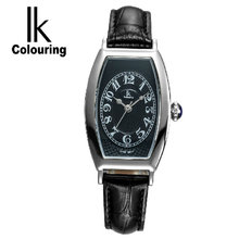 Ik for women s quartz diamond lady watch watch glass