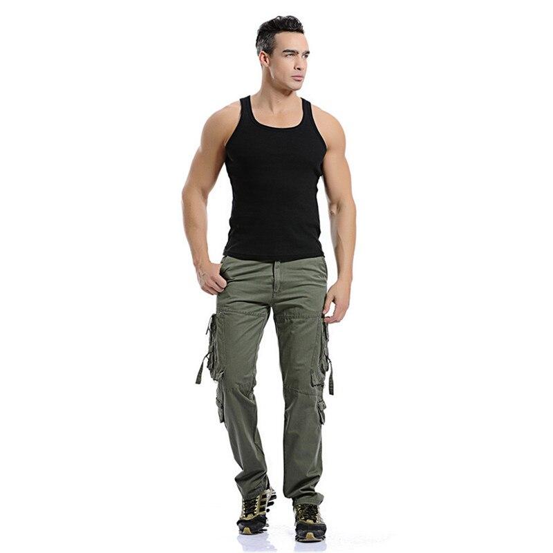 Image 5 - Hommes Cargo pantalon vente chaude grande taille 28 42 marque  ample Homme militaire pantalon armée marque vêtements décontracté  travail pantalon hommescasual work pantsmens cargo pantscargo pants -