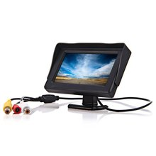 4.3 inch Color TFT LCD Mini Car Rear View Monitor Parking Rearview Monitor Screen For DVD VCD Reverse Camera for Safety Driving