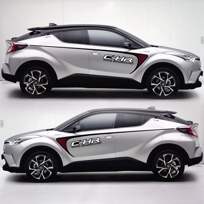 цена TAIYAO car styling sport car sticker For TOYOTA C-HR Hy-Power Concept car accessories and decals auto sticker