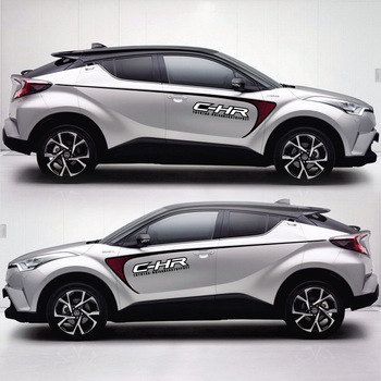 TAIYAO car styling sport car sticker For TOYOTA C-HR Hy-Power Concept car accessories and decals auto sticker taiyao car styling sport car sticker for toyota 2013 2018 rav4 hybrid sapphire car accessories and decals auto sticker
