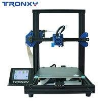 Новый модернизированный Tronxy XY 2 Pro быстромонтируемый 3d принтер автоматическое выравнивание печать силовой датчик накаливания 3,5 ''сенсорный